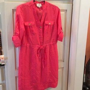ECI shirt dress